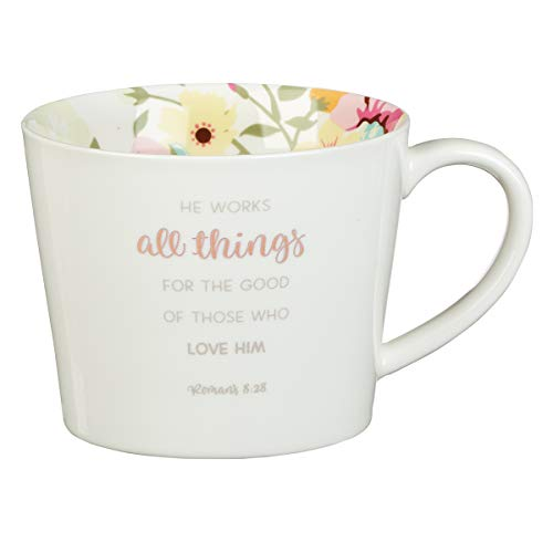 (All Things Coffee Mug - Romans 8:28, All Things Collection)