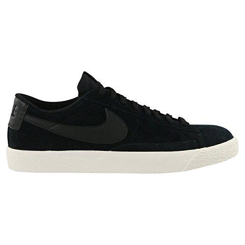 Nike Suede Blazer - NIKE Men's Blazer Low Black/Black/Sail/Iced Lilac Skate Shoe 8.5 Men US