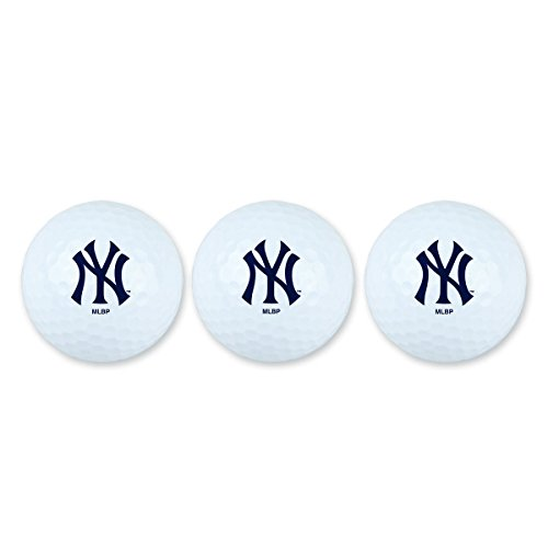 - Team Effort MLB New York Yankees Golf Ball Pack of 3Golf Ball Pack of 3, NA