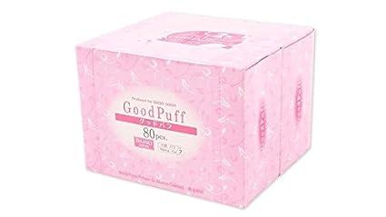 Daiso algodón Puff (80pcs * 2 cajas) 160 hojas