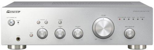 Pioneer A-10-S Stereo-Verstärker (2x 50 Watt, Loudness Funktion) silber