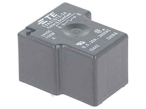 30A TE CONNECTIVITY // POTTER /& BRUMFIELD T9AS1D12-24 POWER RELAY SPST-NO 24VDC 1 piece PC BOARD