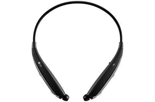 LG Tone Ultra HBS-820 Bluetooth Wireless Stereo Headset - Black (Lg Tone Earbuds Hbs800)
