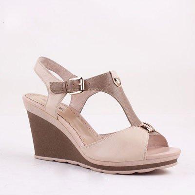Cuero Señoras Zormey Rosa 5 Alta Zapatos Cuñas Auténtico De De Moda 6 Artesanales 6 Rosa Bombas Vd012 De Bacia Moda Badanas Sandalias Lujo Sandalias Verano wSSTq1r0n