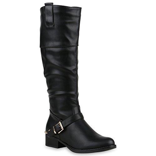 Stiefelparadies - Botas de montar Mujer negro