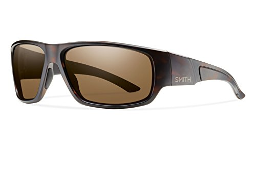Smith Optics Discord Sunglass with Polar Brown Carbonic TLT Lenses, Matte - Discord Smith Sunglasses