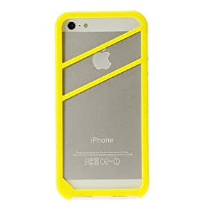 Special Design Quality Hard Bumper Frame for iPhone 5/5S (Assorted Colors) --- COLOR:Black