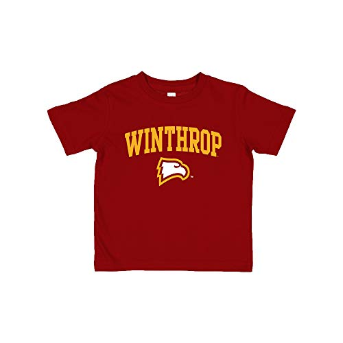 TS03 - Winthrop Eagles Arch Logo Toddler T Shirt - 2T - Garnet