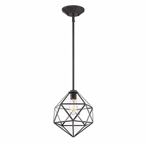 Cordelia Lighting 1-Light English Bronze Hanging Pendant ()