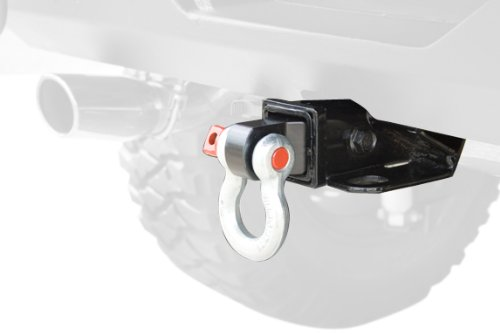 Rugged Ridge 11234.01 Receiver Shackle Bracket (Bracket Hitch Receiver)
