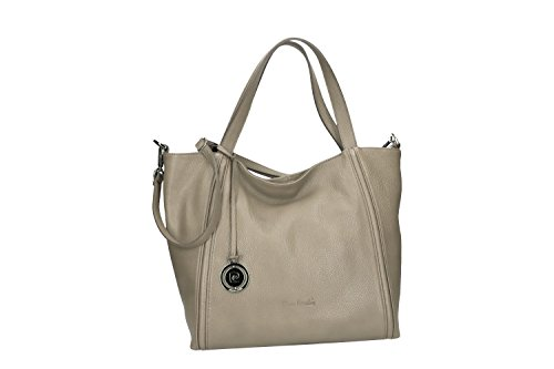new product various colors pretty cheap Tasche damen mit schultergurt PIERRE CARDIN schlamm leder ...