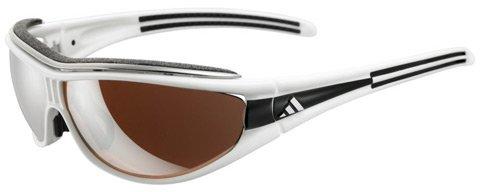 Adidas Sonnenbrille Evil Eye Pro L (A126) race white/black