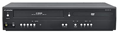 Funai Corp. DV220FX5 Dual Deck DVD and VHS Player