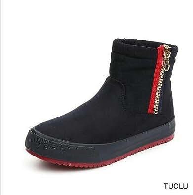 Amazon.com   Fumak: Women Boots Casual Black 2018 Hot Snow