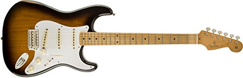 (Fender Road Worn '50s Stratocaster, Maple Fretboard - 2-Tone Sunburst)