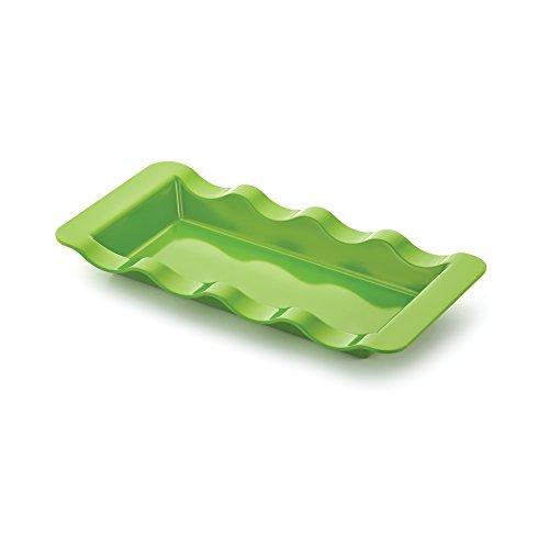 acker/Condiment Tray, Citrus Green (Corn Server)