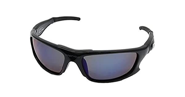Amazon.com: amphibia Exodus ámbar Wave – Gafas de sol, negro ...