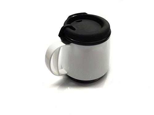 Mug White Body - 20oz. Foam Insulated Wide Body Thermoserv Mug (WHITE)