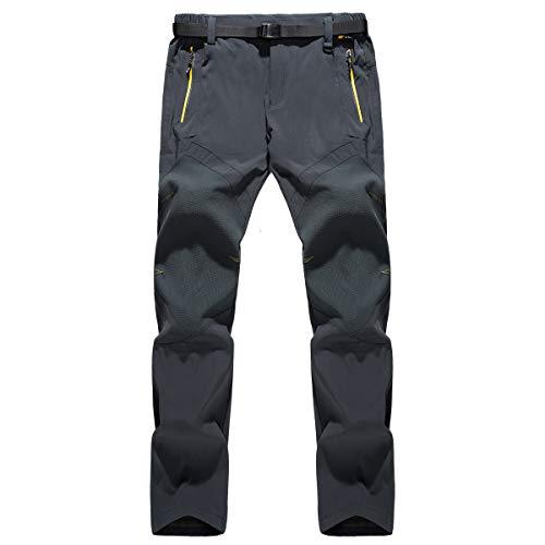 ReFire Gear Men's Lightweight Outdoor Hiking Pants Waterproof Quick Dry Sport Camping Mountain Pants