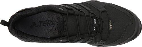 adidas outdoor Terrex Swift R2 GTX Mens Hiking Boot Black/Black/Black, Size 6 by adidas outdoor (Image #1)