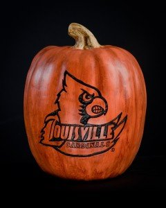 Cumberland Designs Louisville Cardinals Large Resin - Cardinals Pumpkin