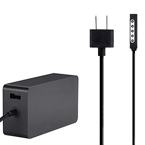 Power Supply for Surface RT Surface Pro 1 Surface Pro 2 Charger Adapter  Including USB for Accessory Charging [Model:1536,12v,3 6A,48W]