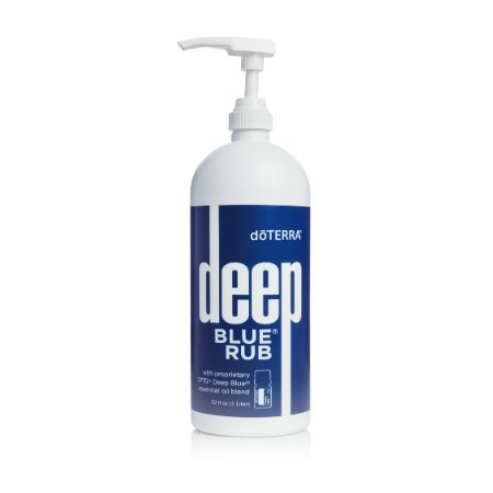 doTERRA Deep Blue Rub 32 oz Pump Bottle