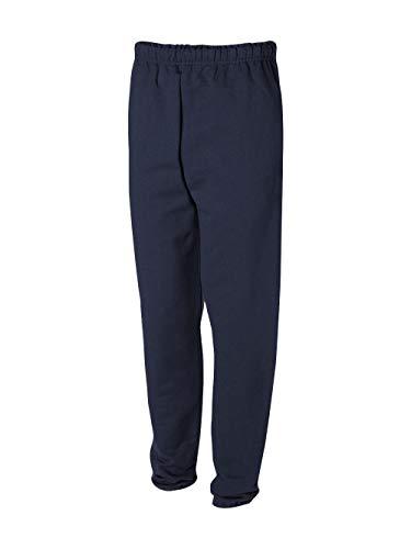 - Jerzees Men's Super Sweatpants with Pocket (J. Navy/Medium)
