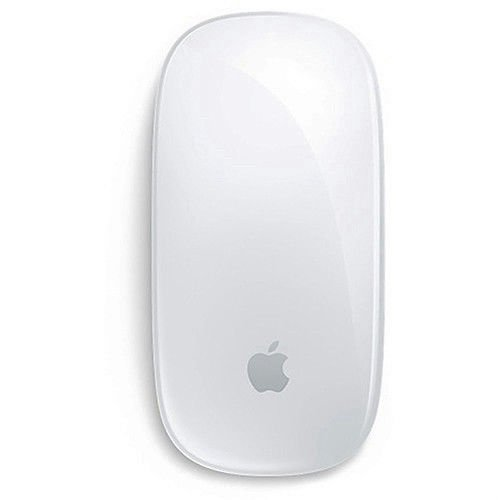 2 Button Bluetooth - Apple Wireless Magic Mouse 2, Silver (MLA02LL/A) - (Renewed)