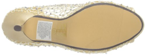 Lunar  FLR181,  Damen Peep Toes Gold