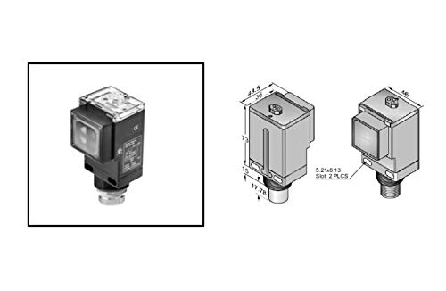 RADWELL VERIFIED SUBSTITUTE 42GRP-9001-QD-SUB Replacement of Allen Bradley 42GRP-9001-QD, PHOTOELECTRIC Sensor - STD Diffuse, Infrared: 880NM, Quick Disconnect, 12-240V DC/24-240V AC, SPDT Relay with