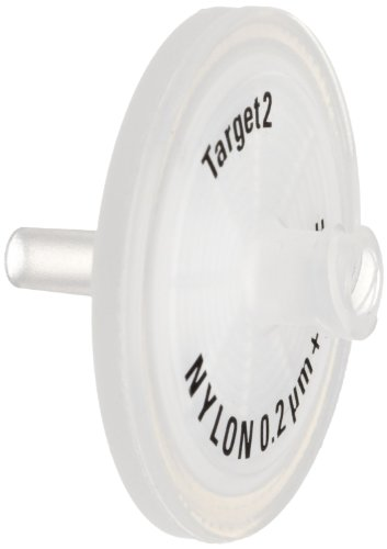 National Scientific Nylon Syringe Filter, 30mm, 0.45µm (Case of 1000) by National Scientific