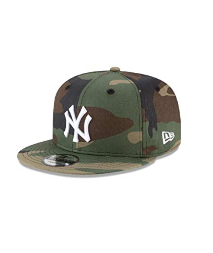 New Era Mens New York Yankees Camouflage WDC 9Fifty Adjustable Snapback 950 Cap ()