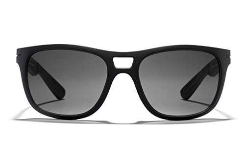 ROKA Vendee High Performance Polarized Sunglasses for Men and Women - Matte Black Frame - Polarized Carbon ()