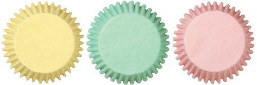 Wilton Mini Cups Mini-Papierförmchen, Pastellfarben, 100Stück