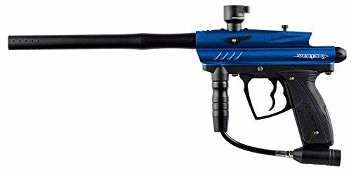 D3FY Vertex Semi Auto Paintball Marker Gun, Dark Blue