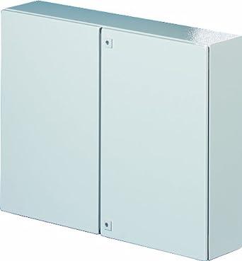 Rittal 1130500 Light Grey Steel Ae Double Door Wallmount Enclosure 39 3 8 Quot