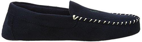 Ralph Lauren Heren Marine / Groene Dezi Ii Moccasin Slippers
