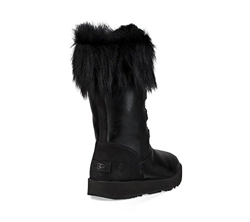 UGG Aya Womens Boot Black Waterproof 8qg8Zrn