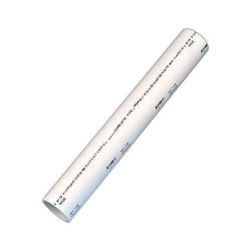 Pipe Pvc Astm - Charlotte Pipe PVC 04300 0200 DWV SCH 40 Foam Core Pipe, 2', PVC, 3