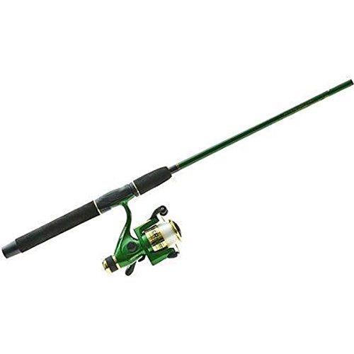 Master Fishing Tackle Salt Water Spin Series Line & Mounted Rod Combo with 5 Ball Bearing for 260/3210-RD (2 Piece), 9′ Review