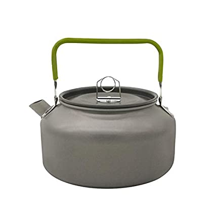Amazon.com : HURA Outdoor Tablewares - Camping Kettle Outdoor Coffee Kettle Camping Tableware Travel Tableware Outdoor Picnic Set 1 PCs : Sports & Outdoors