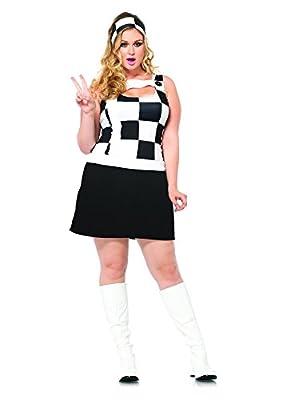 Leg Avenue Women's Plus-Size 2 Piece Trippy Trixie Plus Size
