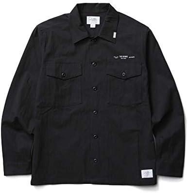(クライミー) CRIMIE CR01-02L1-SL01 NYLON & COTTON MILITARLY SHIRT ナイロン&コットンミリタリーシャツ