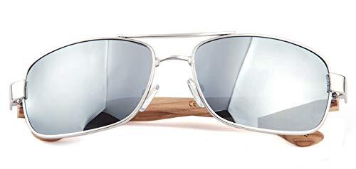 adulto Unisex cuadrados Talla Silver Trading única ZC Three lentes zi1Ap1XwQg amp; polarizados Square XwIOxUqpx