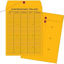 Business Source Ruled Interdepartmental Envelopes - Inter-Department - #32-10