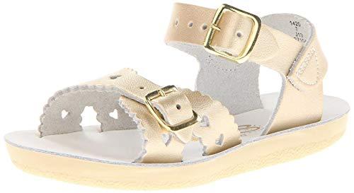 - Hoy Girls Sun-San Sweetheart Sandal Shoes Gold 3
