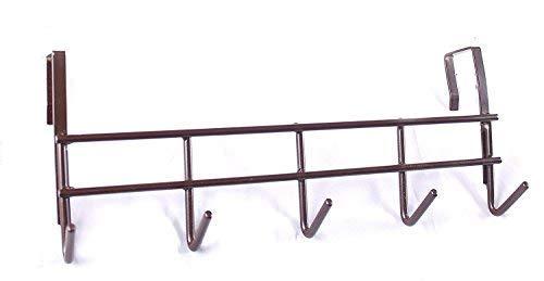 Naoetmbrown -Steel Hanger 5-Hooks Over The Door Hanger