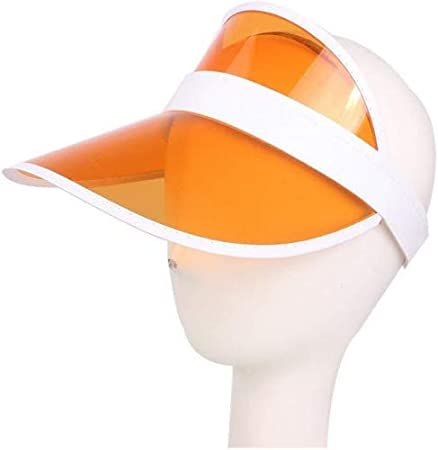 ViewHuge Sun Visor Hats for Kids,PVC Transparent Clear Outdoor UV Protection Hat Cap