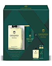 Crossmen 99350046197 Sport Set para Hombre: Eau de Toilette Natural Splash 100 ml + Desodorante Body Spray 150 ml